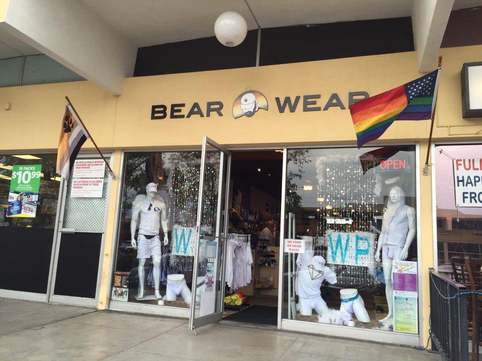 bear wear palm springs