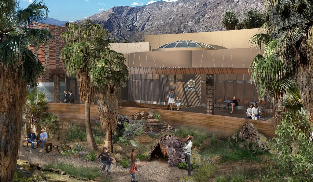 Agua Caliente Band of Cahuilla Indians cultural museum rendering
