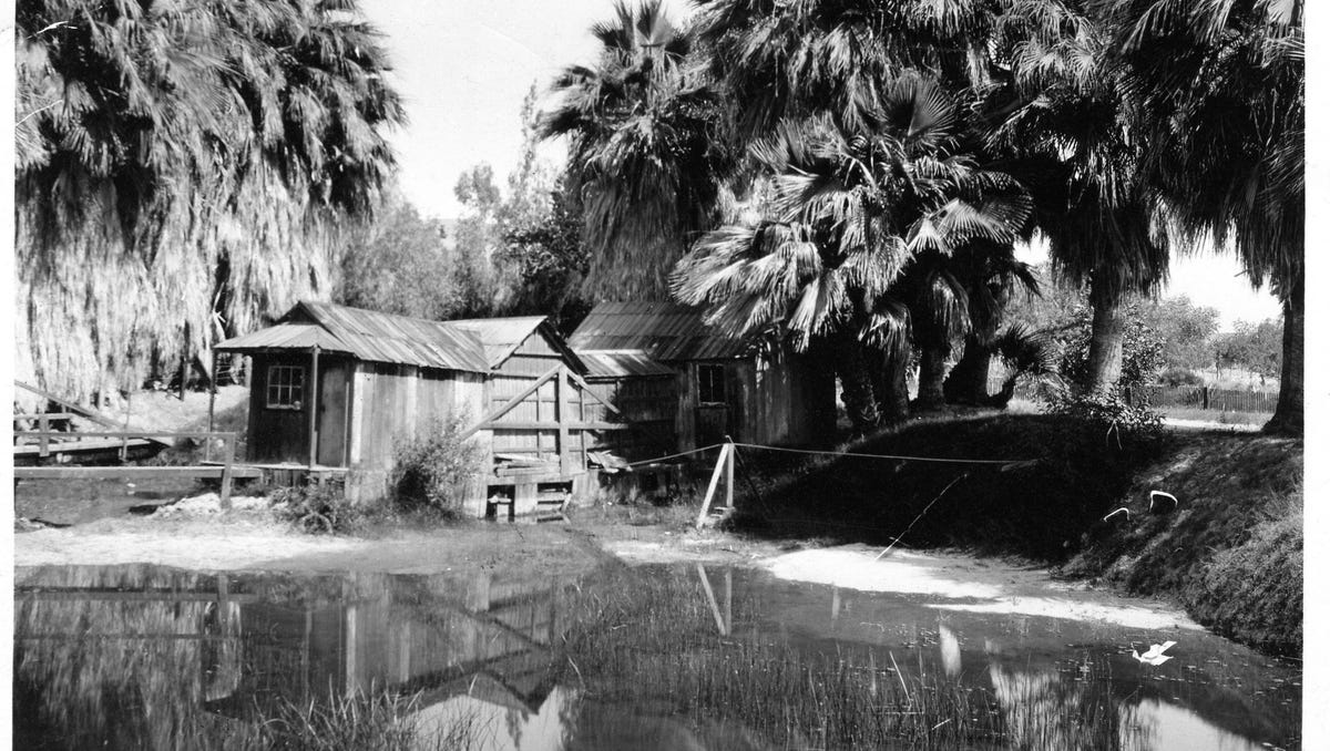 Agua Caliente Band of Cahuilla Indians bathhouse