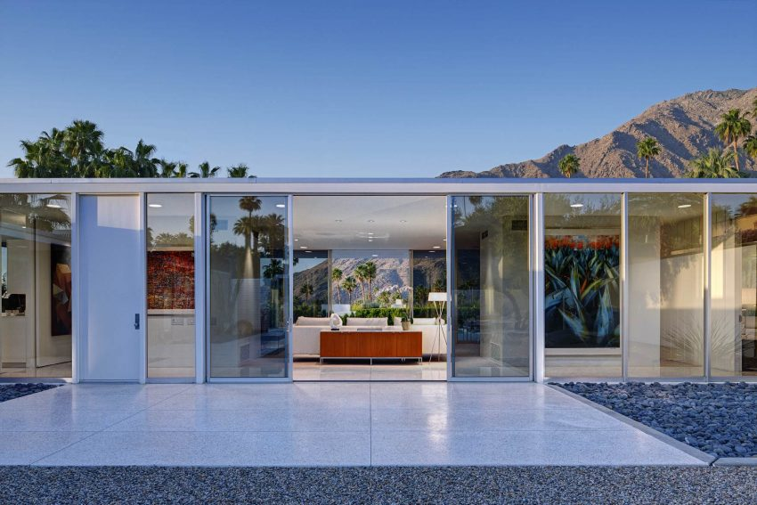 palm springs midcentury architecture home