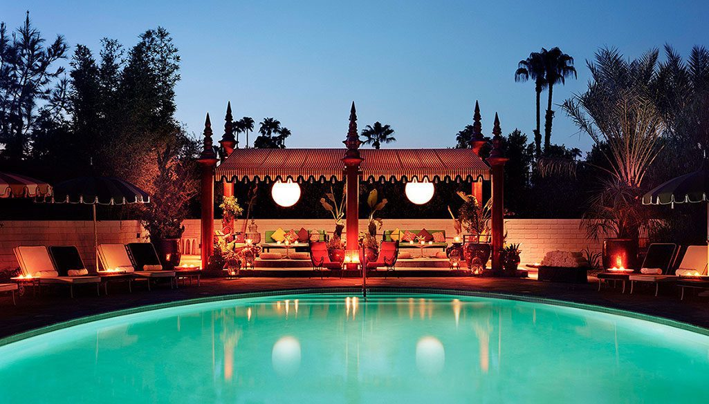 parker hotel palm springs pool