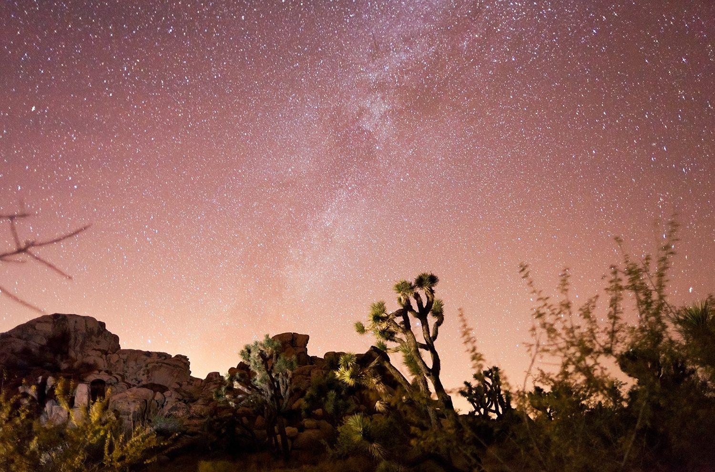 stargazing near palm springs