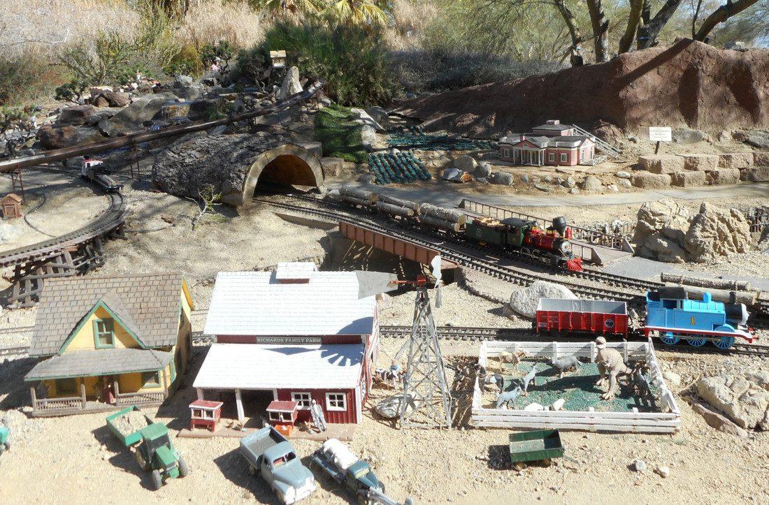 The Living Desert Zoo model railroad