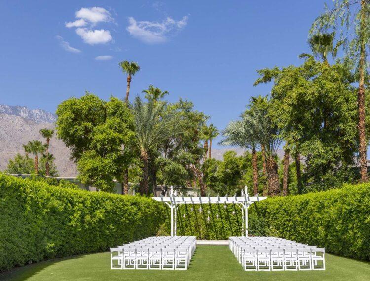 Margaritaville wedding garden