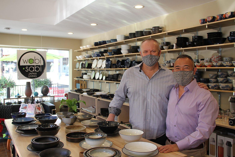 Owners Wabi Sabi Japan LivingPalm Springs