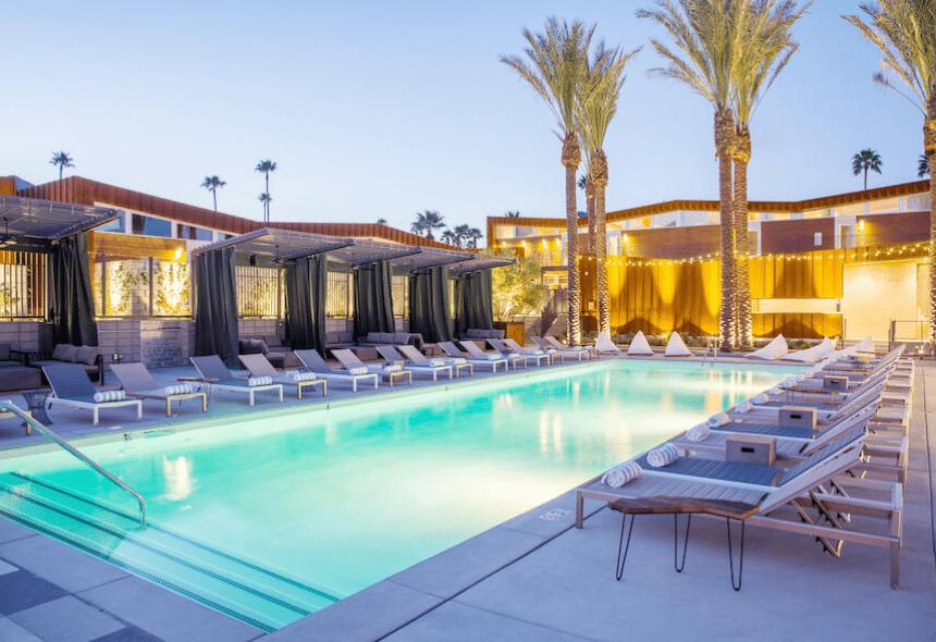 arrive palm springs pool