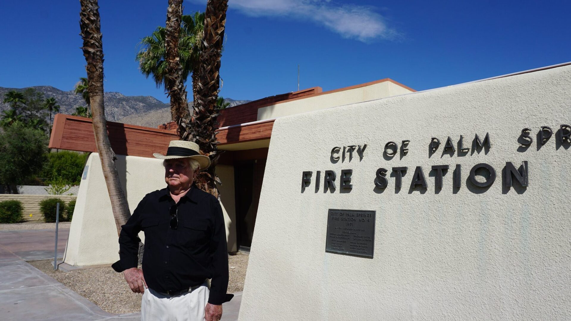 Fire Station #4 by architect Hugh Kaptur in palm springs