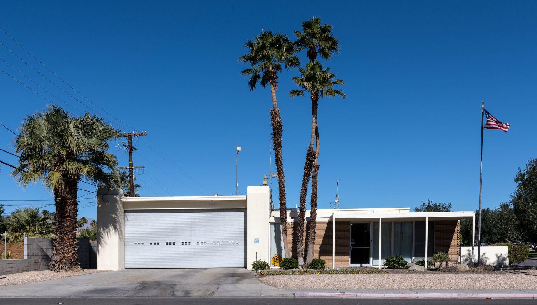 Hugh Kaptur designed Fire Station #3 palm springs