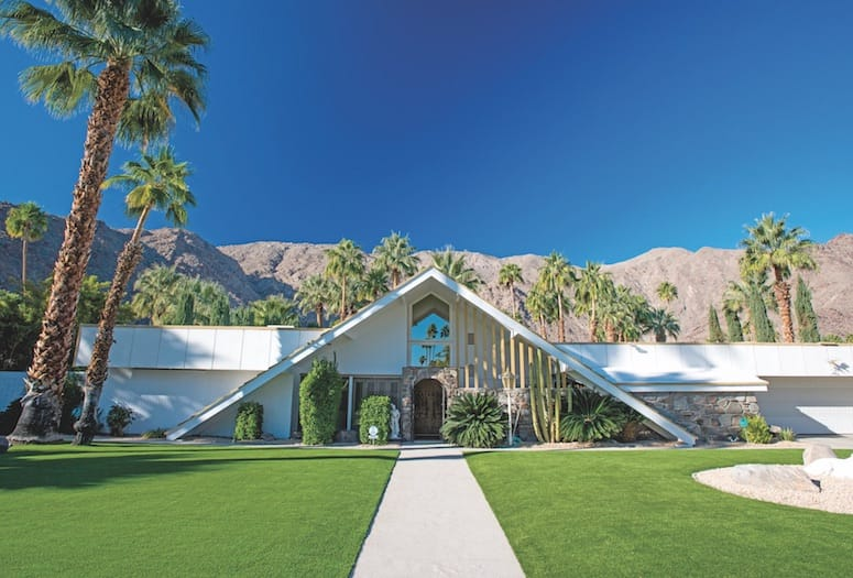 Swiss Miss house by architect Charles DuBois in palm springs
