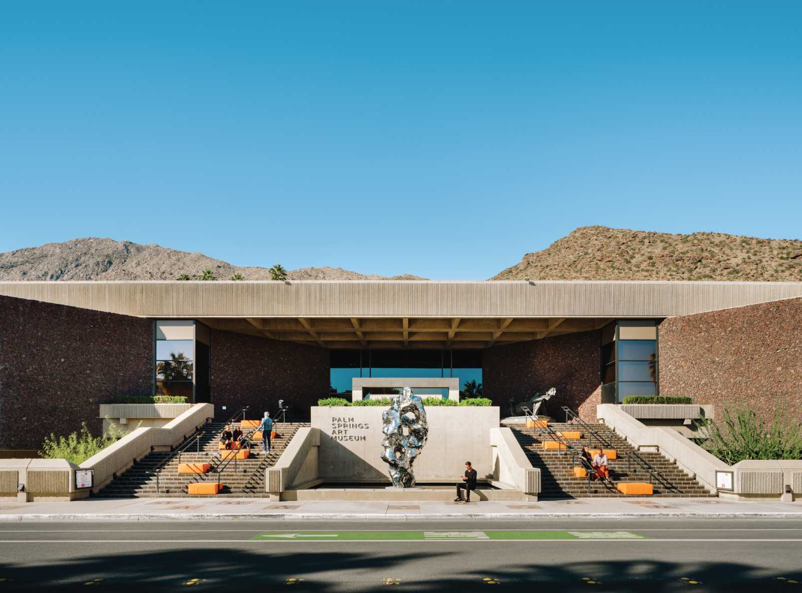 Palm Springs Art Museum by architect E. Stewart Williams