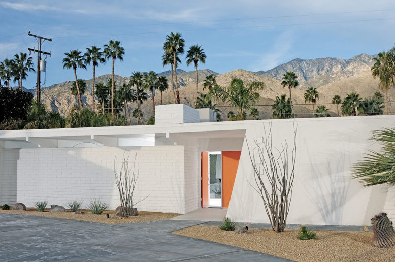 Werner Hogback home in palm springs
