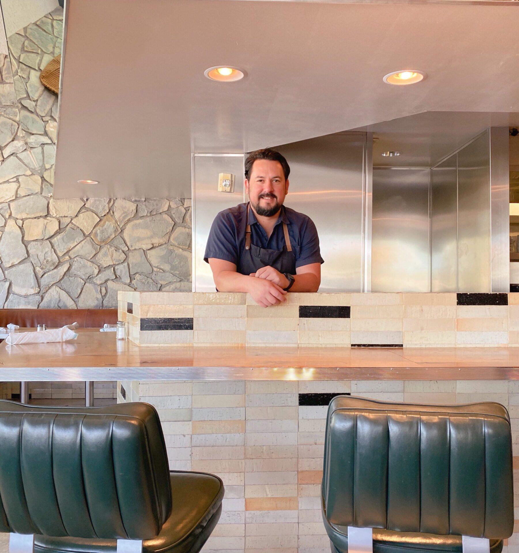 Executive Chef Ysaac Ramirez at Ace Hotel palm springs