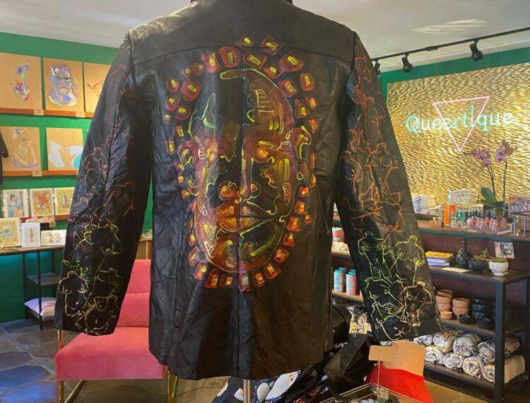 jacket on display