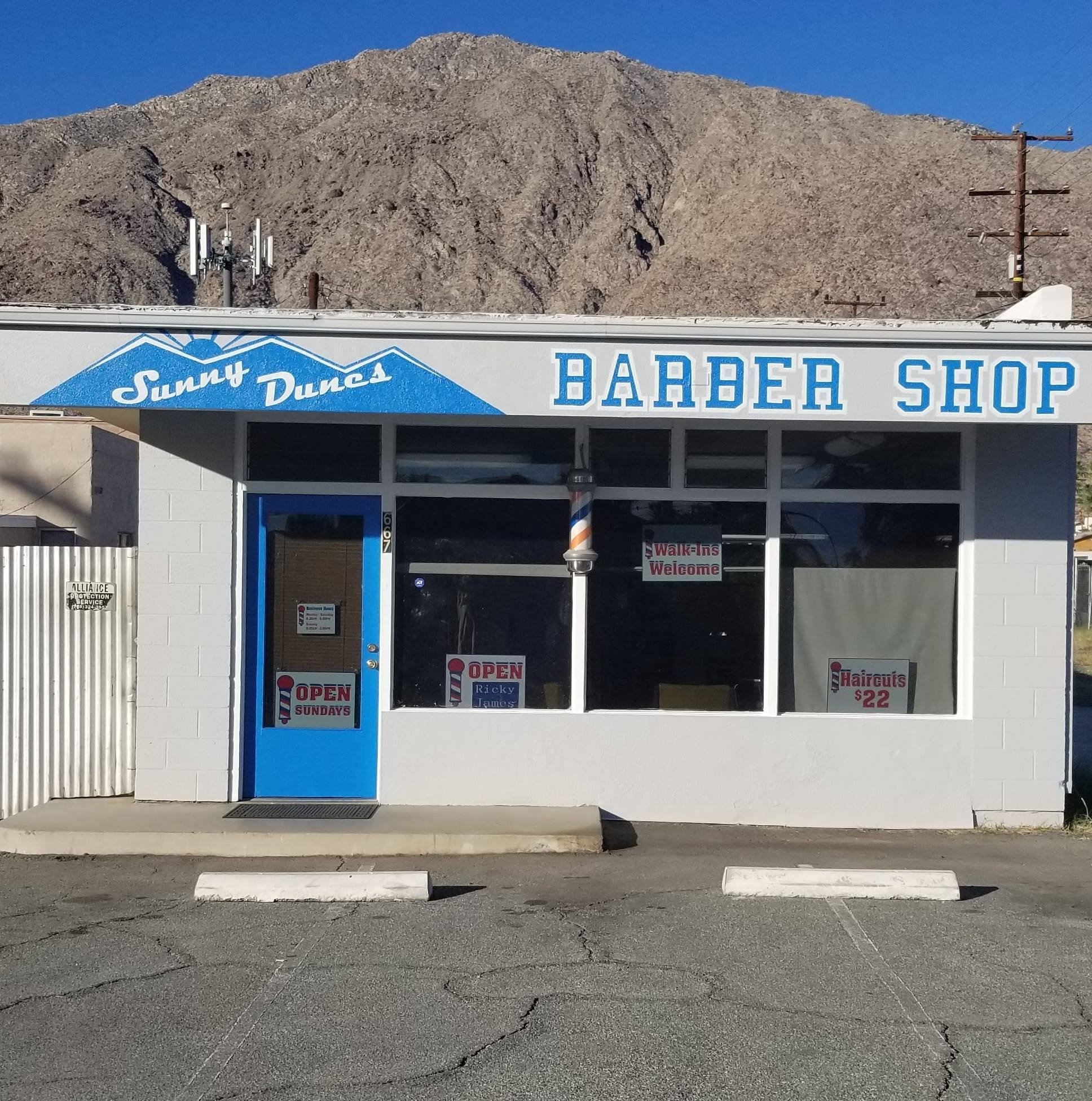 Sunny Dunes Barber Shop
