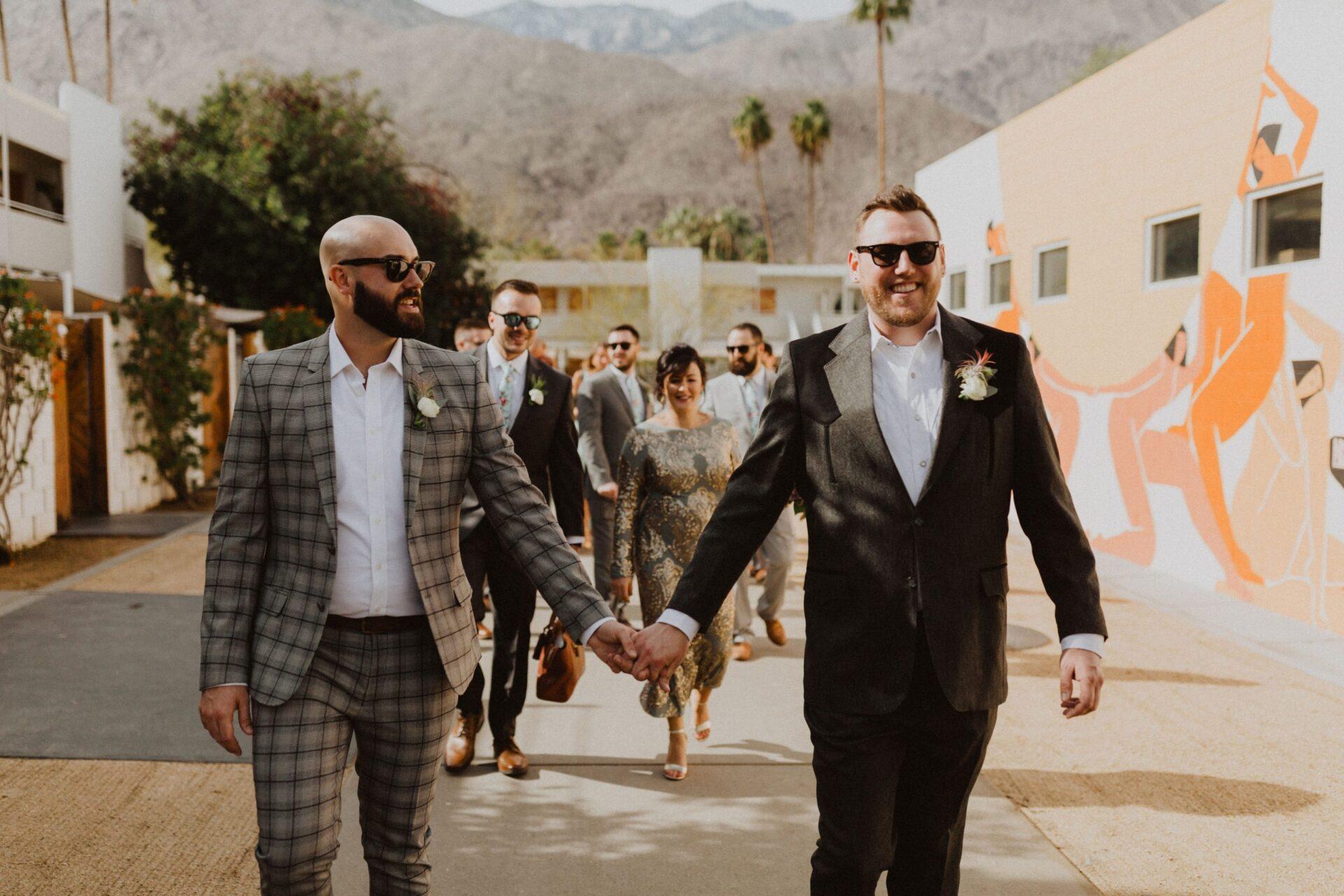 gay wedding ace hotel
