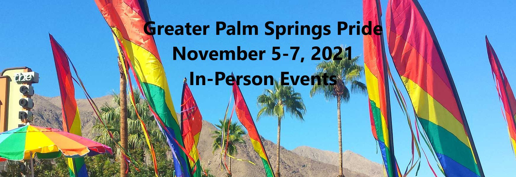 Greater Palm Springs Pride Flyer
