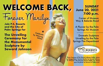 Forever Marilyn flyer