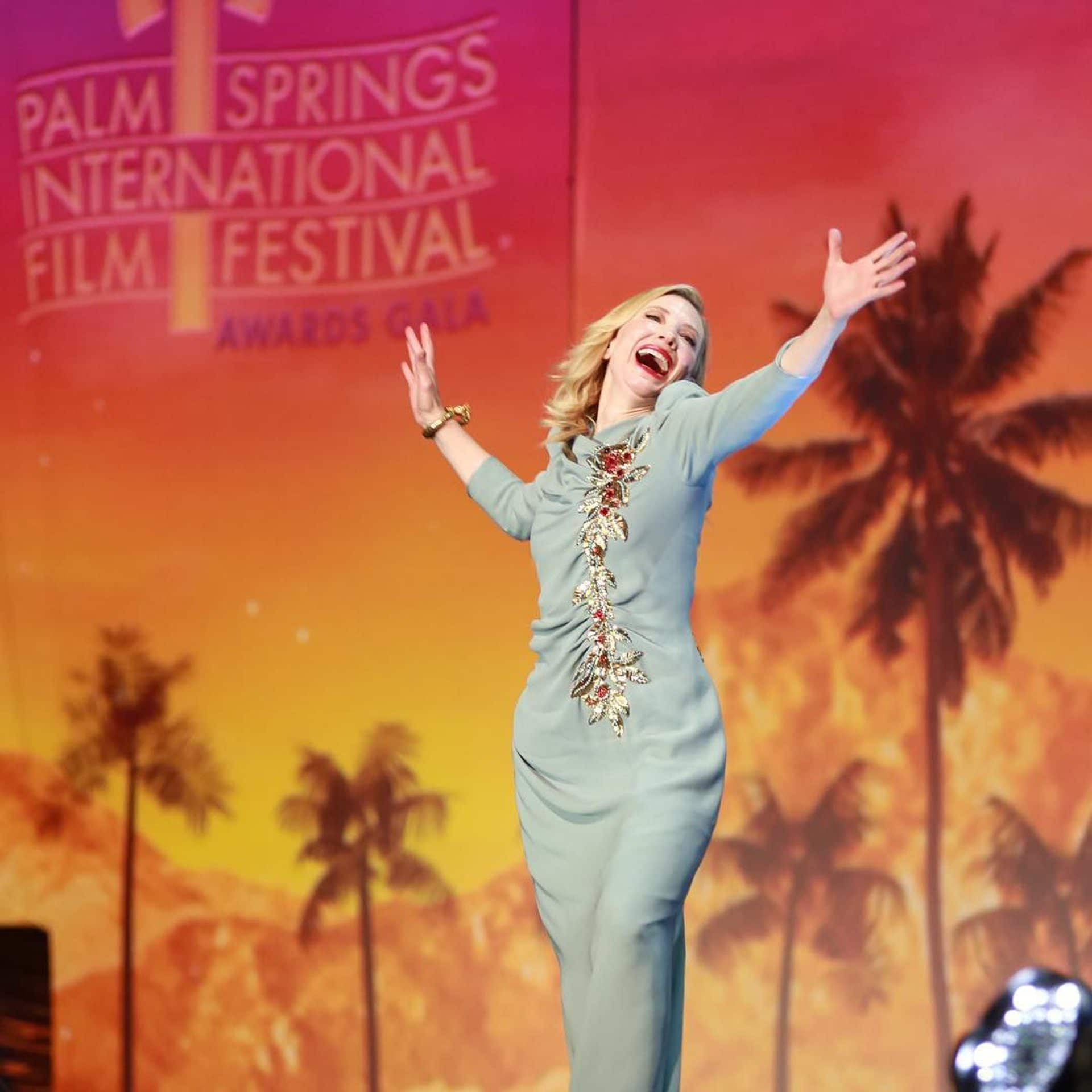 Kate Blanchet at Palm Springs Film Festival