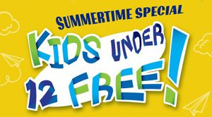 Kids 12 and under free flyer