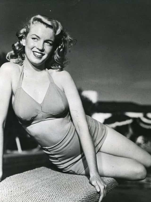 Marilyn Monroe at Racquet Club
