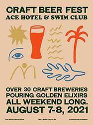 Craft Beer weekend flyer