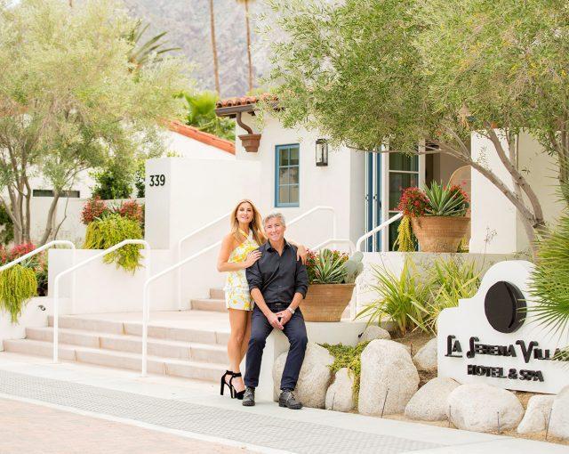Lars and Kelly Viklund at La Serena Villas