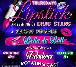 Drag show flyer