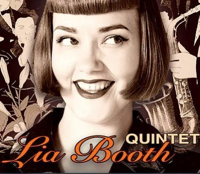 Lia Booth event Flyer