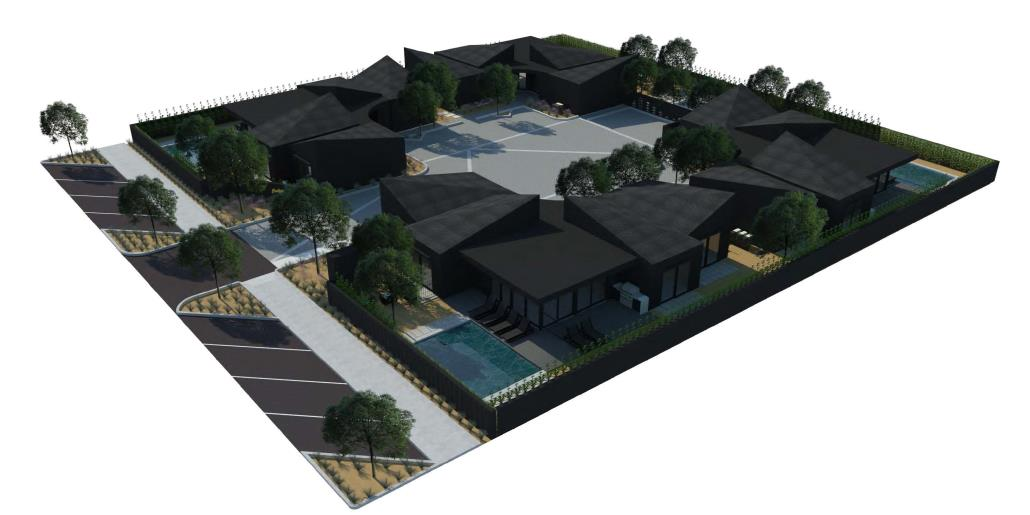 Blackhaus hotel rendering