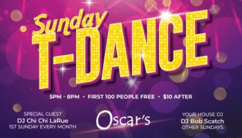 T-Dance event flyer