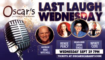 Last Laugh event flyer