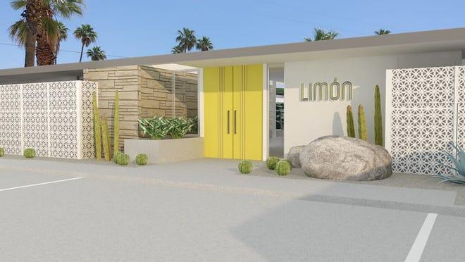 lemon palm springs hotel