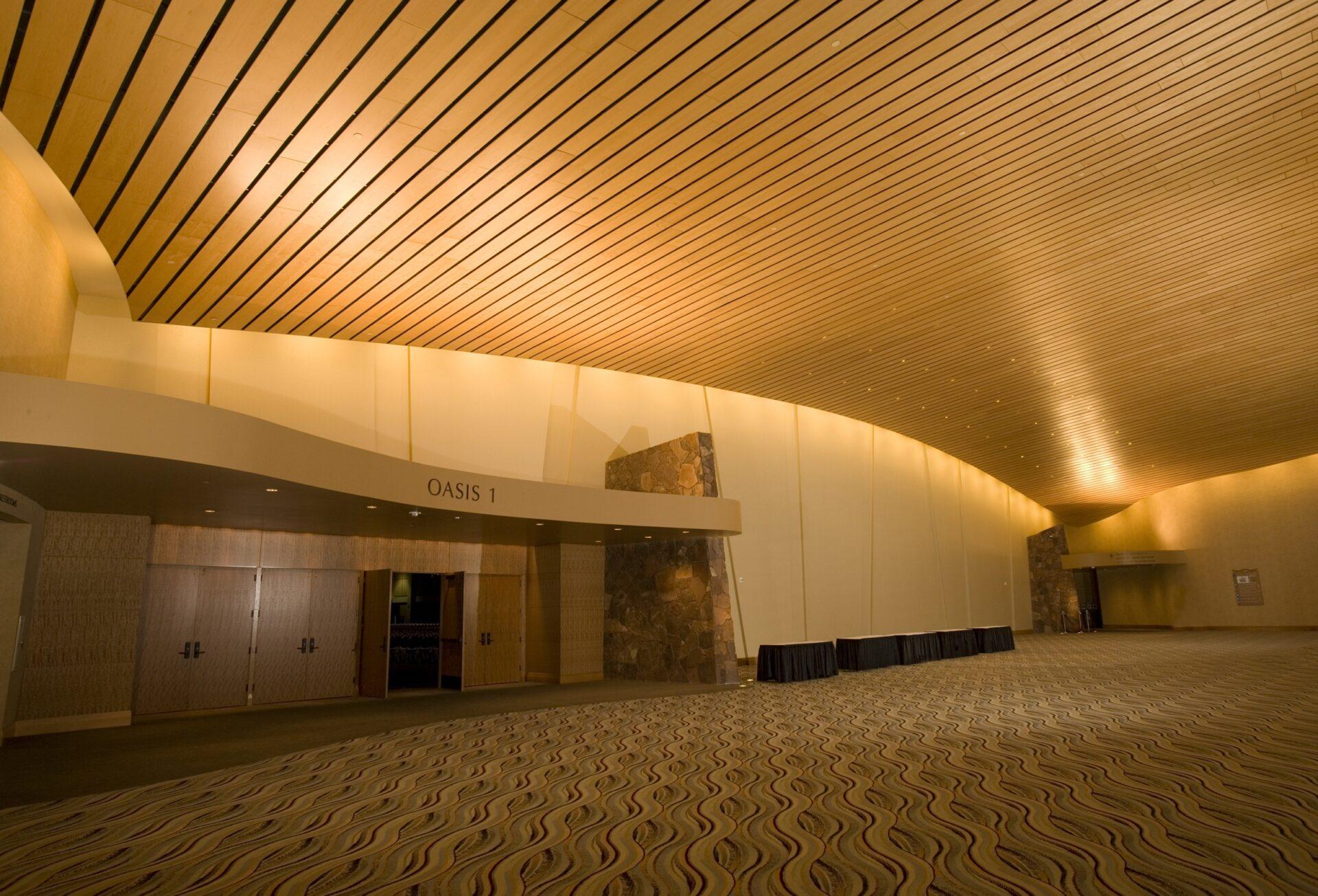 palm springs convention center lobby