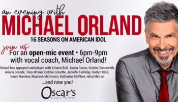 MICHAEL ORLAND – OPEN MIC NIGHT THU SEPT 2 & 23