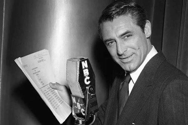 Cary Grant was one of the movie stars to participate in the live broadcasts from the American Legion Post No. 519.