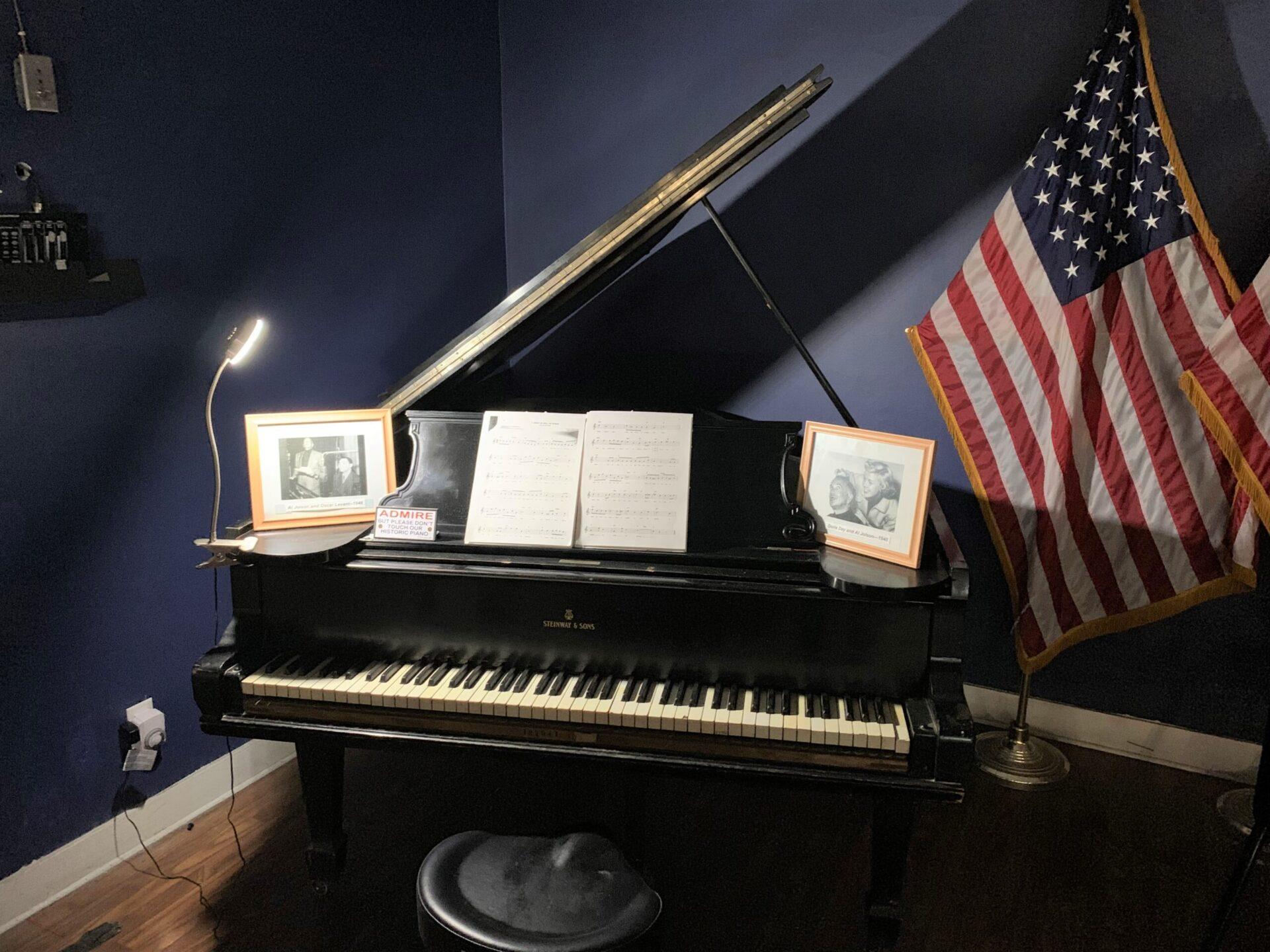 american legion 519 grand piano