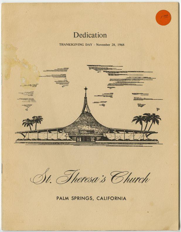 st theresa church palm springs william cody
