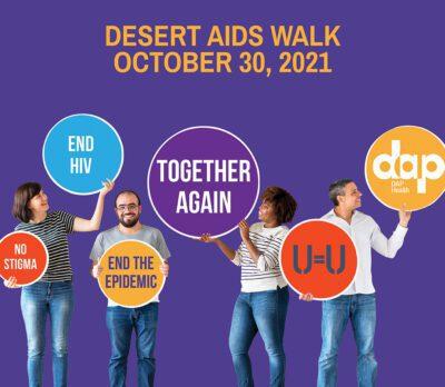 Desert AIDS Walk flyer