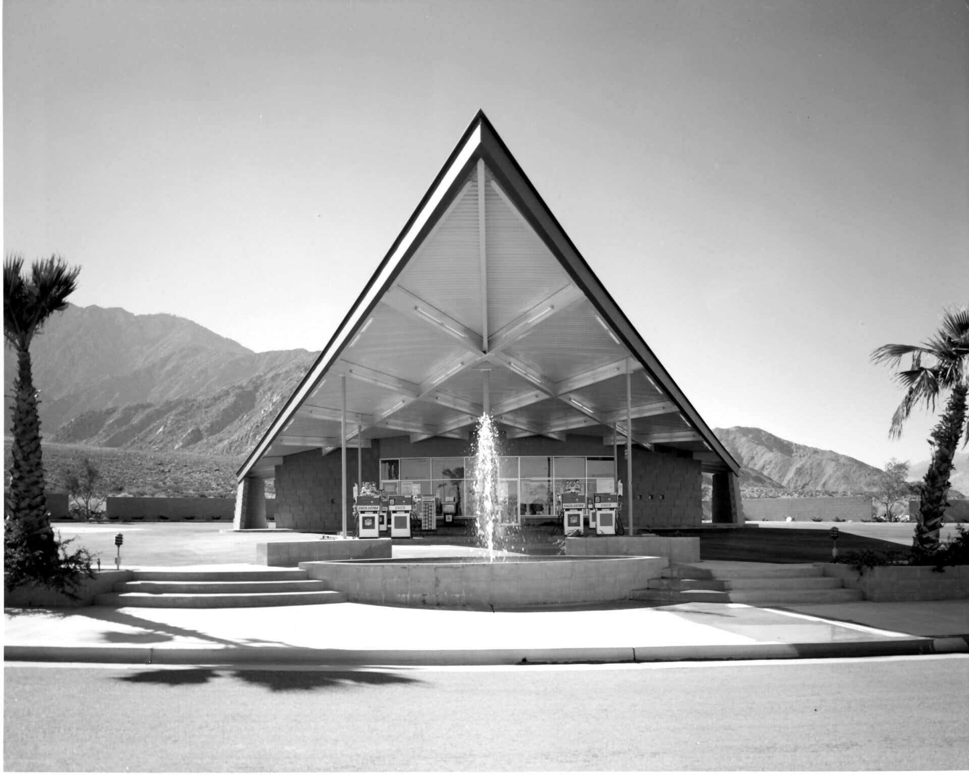 tramway gas station visitor center