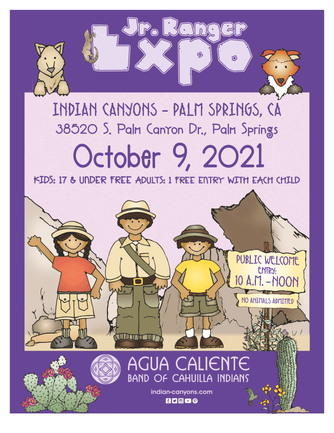 indian canyons junior ranger expo