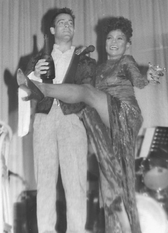 Eartha Kitt Entertaining at 1989 Pride